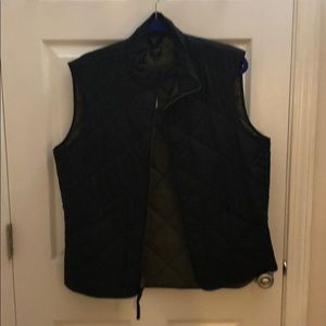 JCrew Men's Vest - Black, brand new